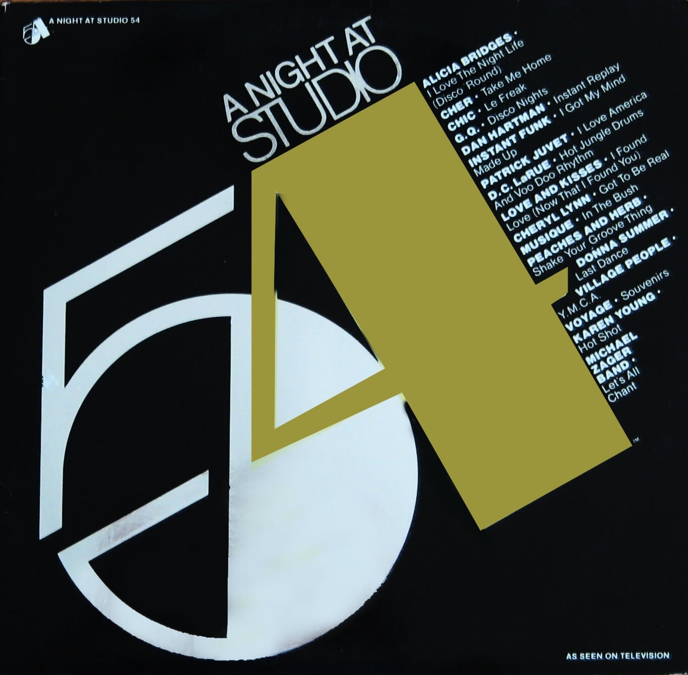 "Various ‎""A Night At Studio 54"" NM- 1979 {2xLPs!}"