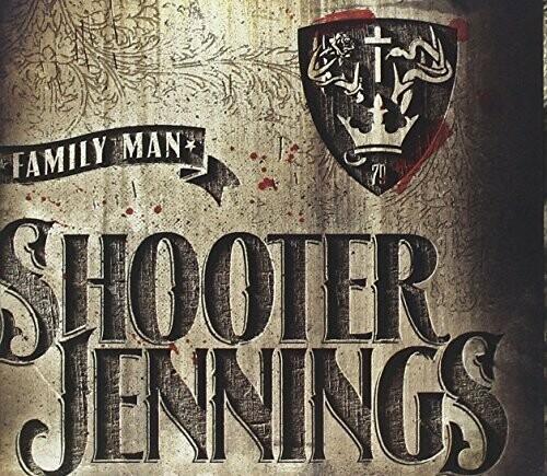 """{DSCGS} Shooter Jennings """"Family Man"""" NM 2012 *red vinyl!*"""