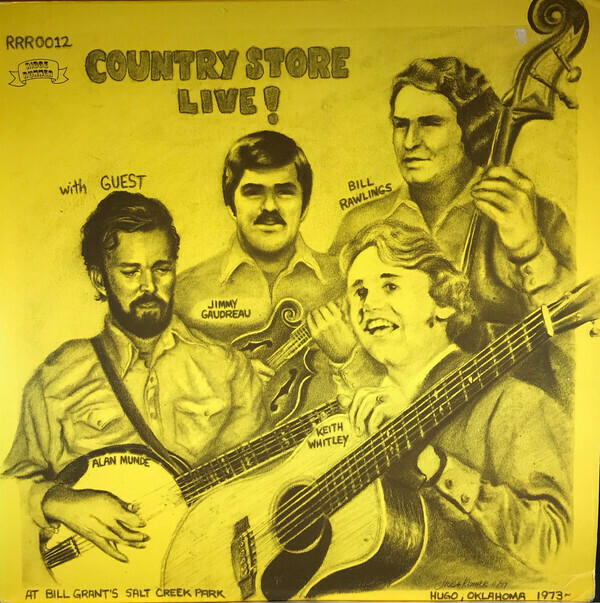 """Country Store """"Country Store Live!"""" VG+ 1977"""