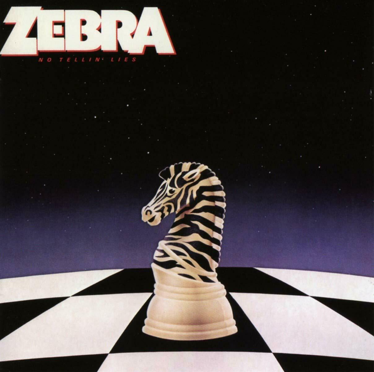 "Zebra ""No Tellin' Lies"" VG+ 1984 *SW/DNAP*"