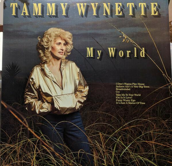 """Tammy Wynette """"My World"""" NM- 1982"""