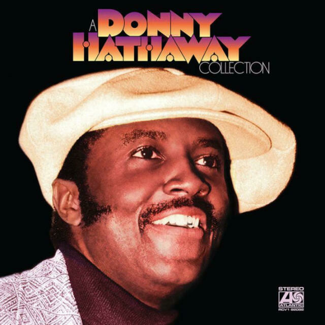 """Donny Hathaway """"A Donny Hathaway Collection"""" *RHINO BLACK* {purple vinyl!}"""