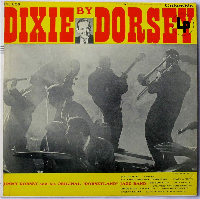 "Jimmy Dorsey ""Dixie By Dorsey"" VG+ 1955 *MONO*"