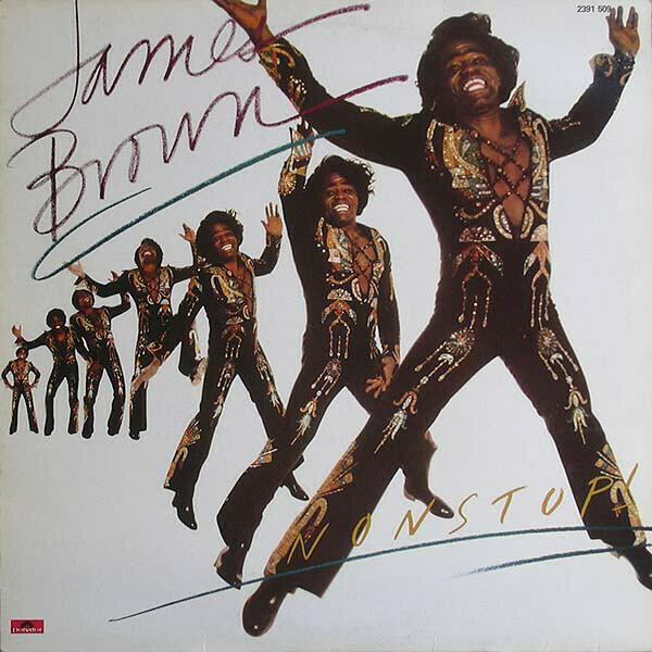 "James Brown ""Nonstop!"" *SEALED* 1981"