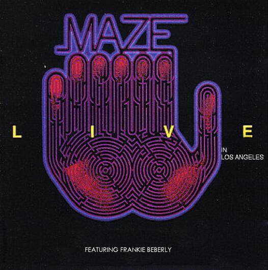 "Maze ""Live In Los Angeles"" VG- 1986 {2xLPs!}"