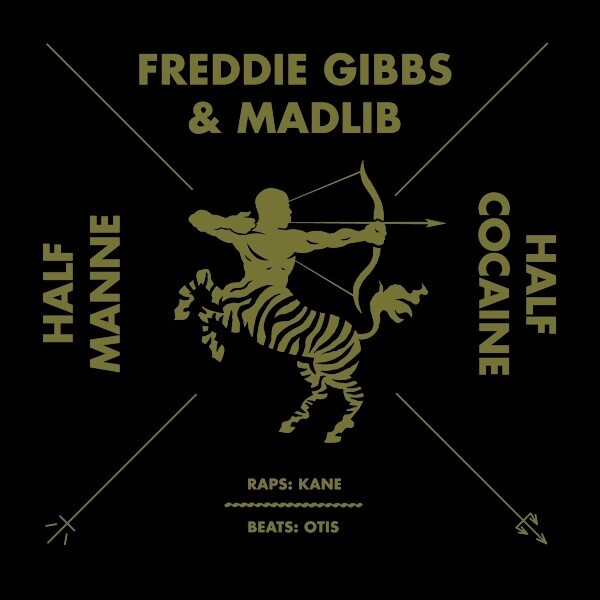 "Freddie Gibbs & Madlib ""Half Manne Half Cocaine"" {12""}"