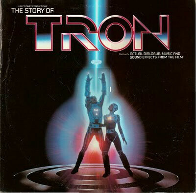 """Chuck Riley """"The Story Of Tron"""" EX+ 1982"""