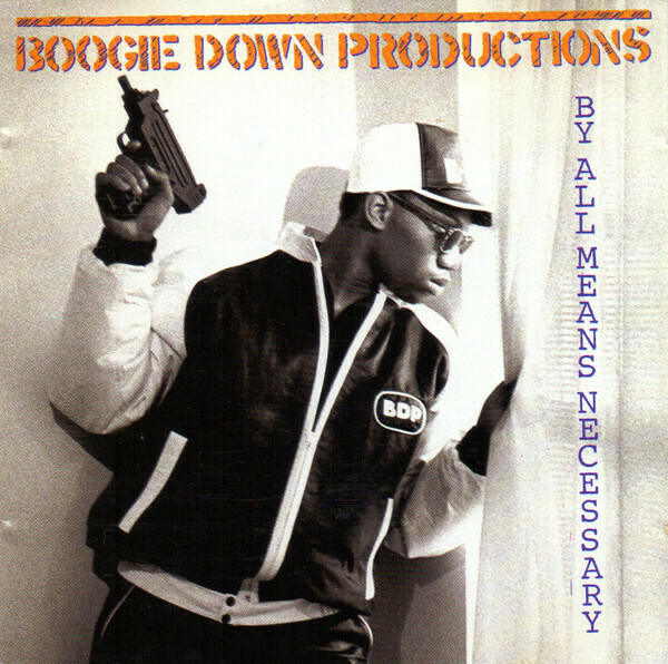 """Boogie Down Productions """"By All Means Necessary"""" VG+ 1988"""