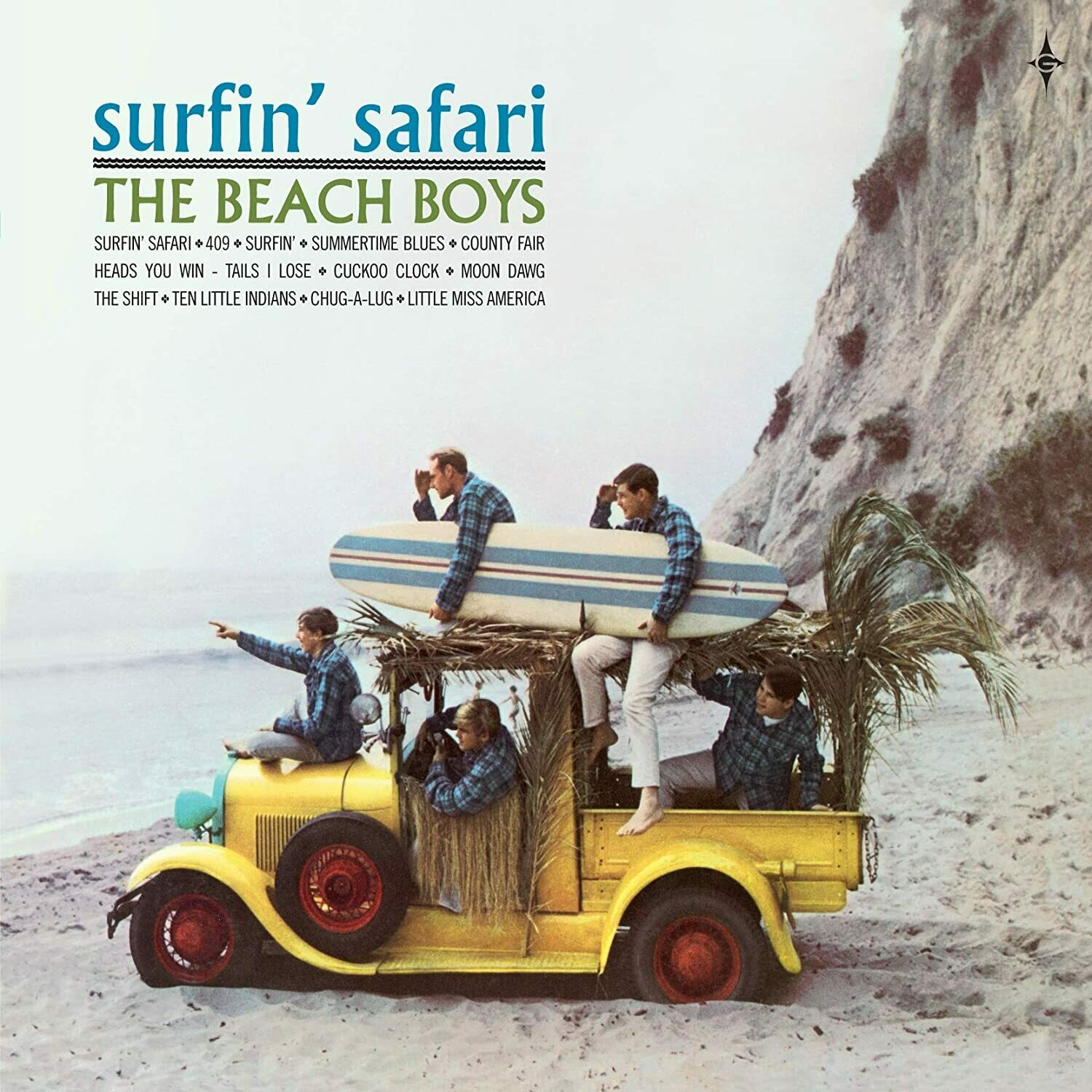 "The Beach Boys ‎""Surfin' Safari"" VG+ 1962/re.1972"