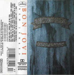 """Bon Jovi """"New Jersey"""" *TAPE* 1988"""