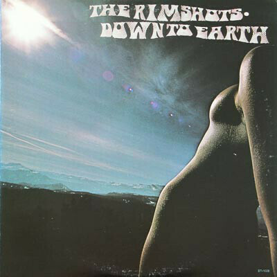 """The Rimshots """"Down To Earth"""" VG+ 1976"""