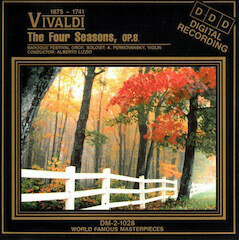 "Vivaldi ""The Four Seasons"" *CD* 1988"