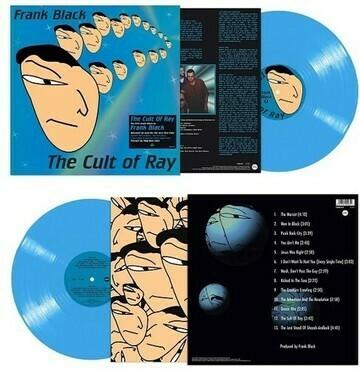 "Frank Black ""The Cult Of Ray"" *blue vinyl!*"