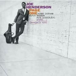 "Joe Henderson ""Page One"""