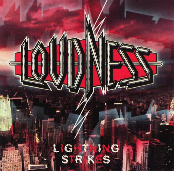 "Loudness ""Lightning Strikes"" EX+ 1986"