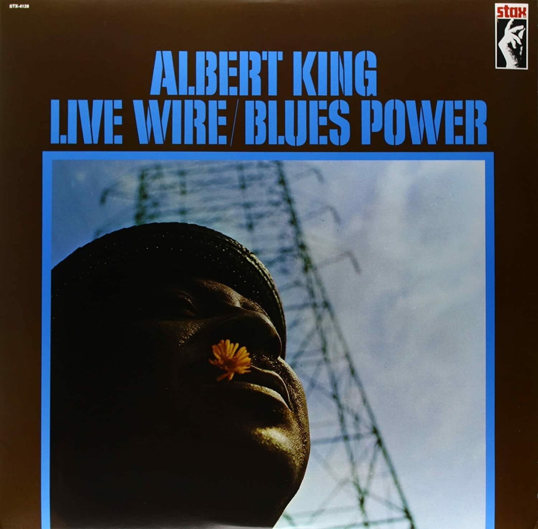 "Albert King ""Live Wire/Blues Power"" NM 1969/re.1979 *DE press!*"
