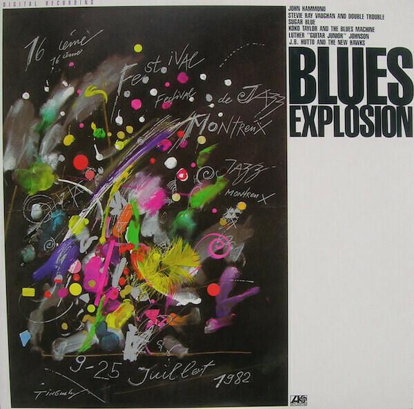 "Various ""Blues Explosion"" NM 1984"