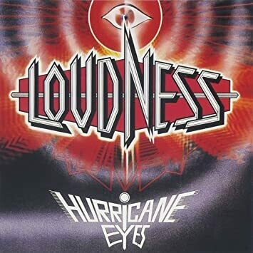 "Loudness ""Hurricane Eyes"" NM- 1987"