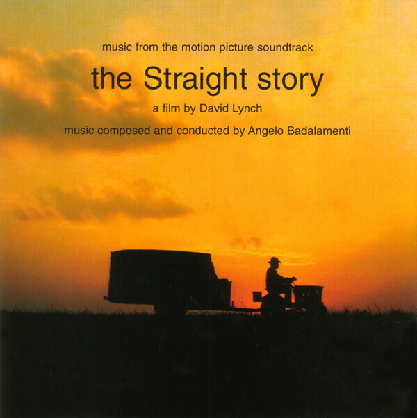 """Angelo Badalamenti """"Music From 'The Straight Story' (OST)"""" *CD* 1999"""