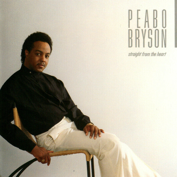 "Peabo Bryson ""Straight From The Heart"" NM- 1984"