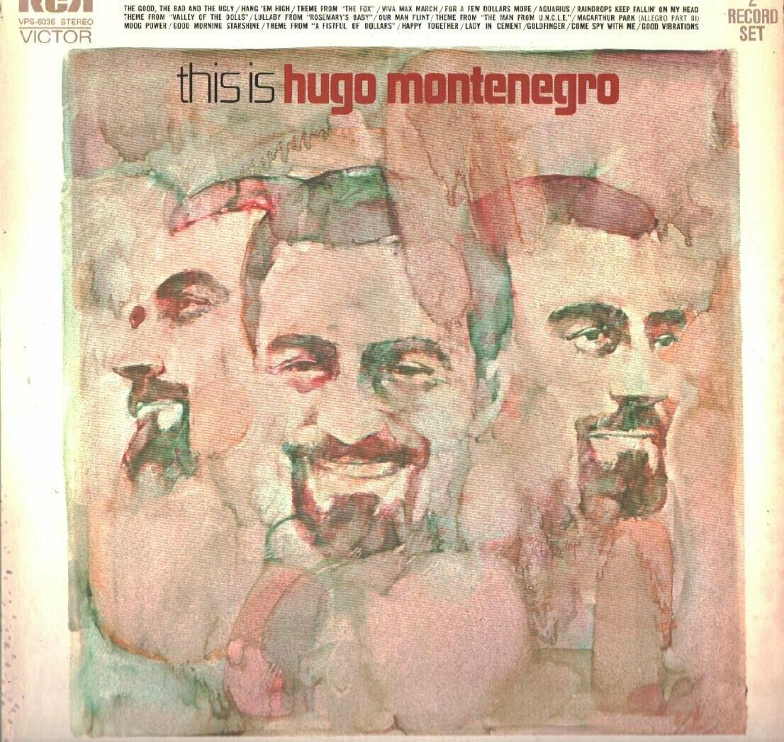 "Hugo Montenegro ""This Is..."" EX+ 1971 {2xLPs!}"