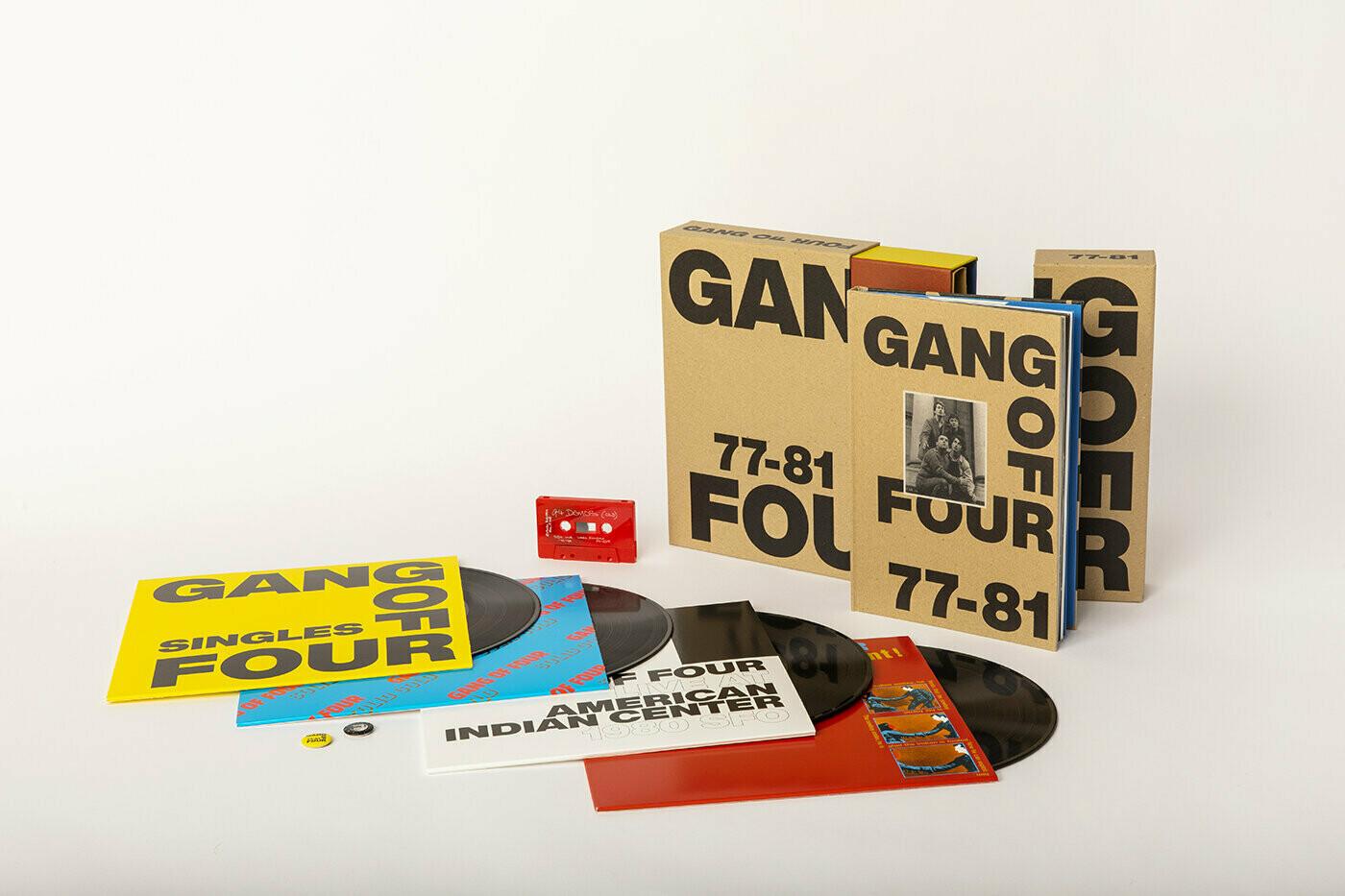 "Gang of Four ""77-81"" {5xLPs!} *Box Set+Cassette+Book*"