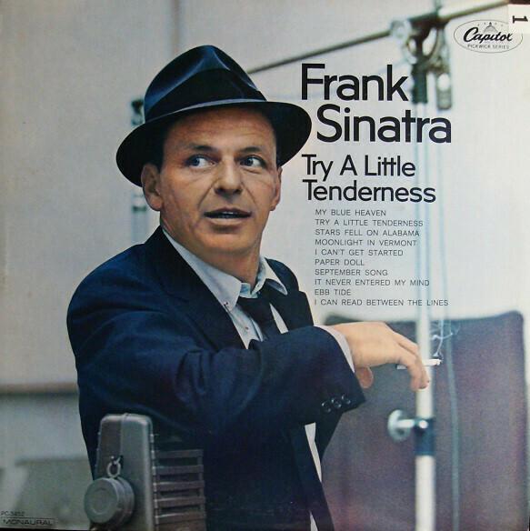 "Frank Sinatra ""Try A Little Tenderness"" VG+ 1967"