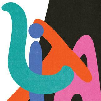 "BADBADNOTGOOD ft. Jonah Yano / Majestics ""Key To Love (Is Understanding)"" *45* {pink vinyl!}"