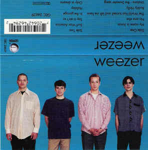 "Weezer ""The Blue Album"" *TAPE* 1994"