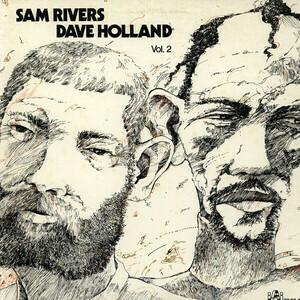 """Dave Holland / Sam Rivers """"Sam Rivers / Dave Holland Vol. 2"""" EX+ 1977"""
