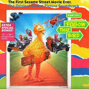 """Sesame Street """"Follow That Bird (OST)"""" EX+ 1985"""