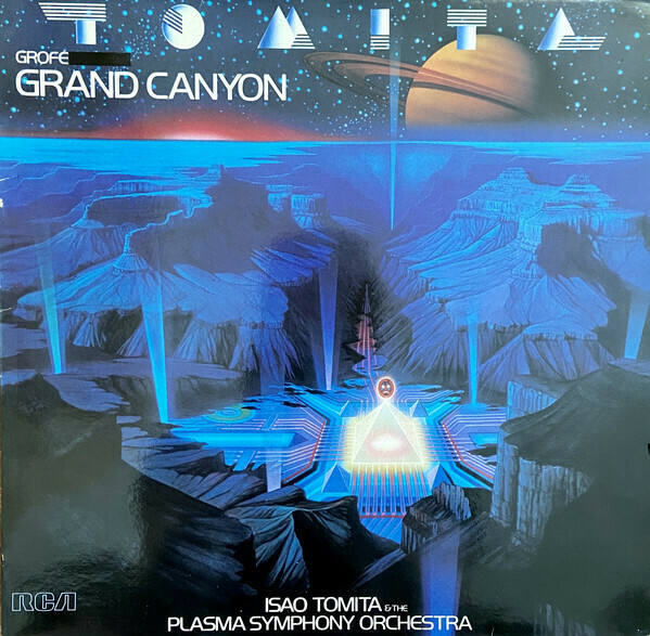 "Tomita & The Plasma Symphony Orchestra ""Grand Canyon"" EX+ 1982"