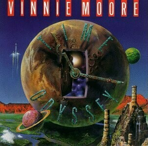 "Vinnie Moore ‎""Time Odyssey"" NM 1988"