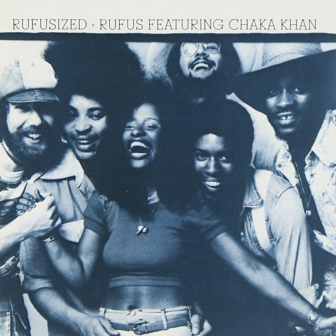 """Rufus feat. Chaka Khan """"Rufusized"""" EX+ 1974"""