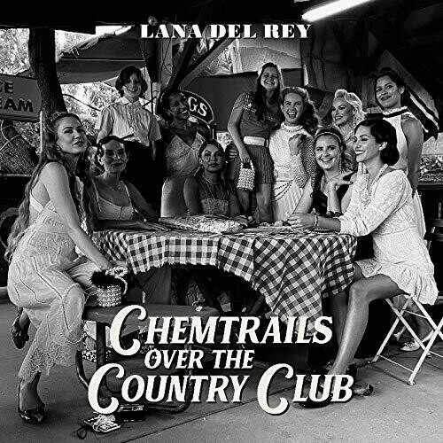 """Lana Del Rey """"Chemtrails Over The Country Club"""" *YELLOW VINYL*"""