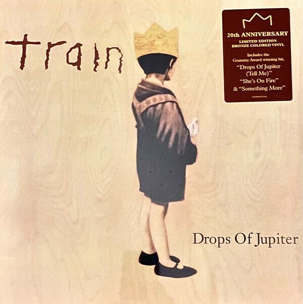 "Train ""Drops Of Jupiter"" {20th anniv. ltd. ed.} *BRONZE VINYL*"