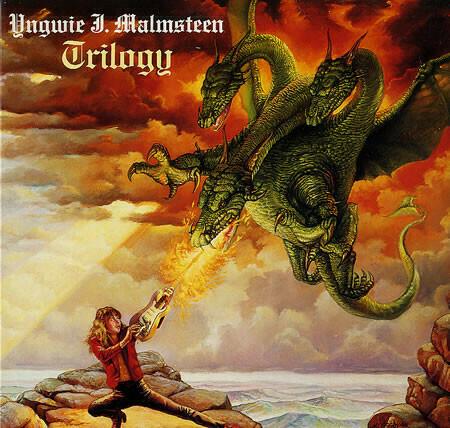 """Yngwie J. Malmsteen """"Trilogy"""" NM- 1986"""