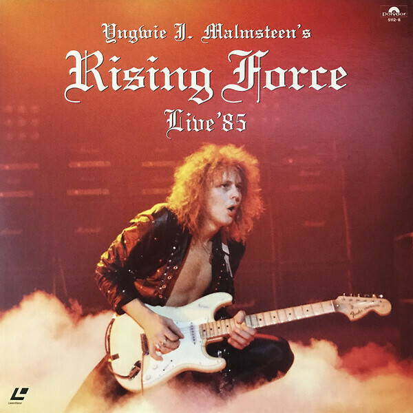 "Yngwie J. Malmsteen's Rising Force ‎""Studio / Live '85"" {12""} NM 1985"