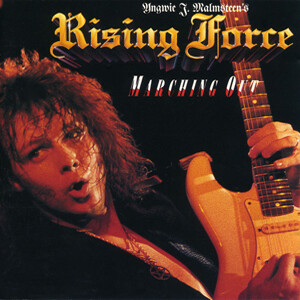 """Yngwie J. Malmsteen's Rising Force """"Marching Out"""" NM 1985"""