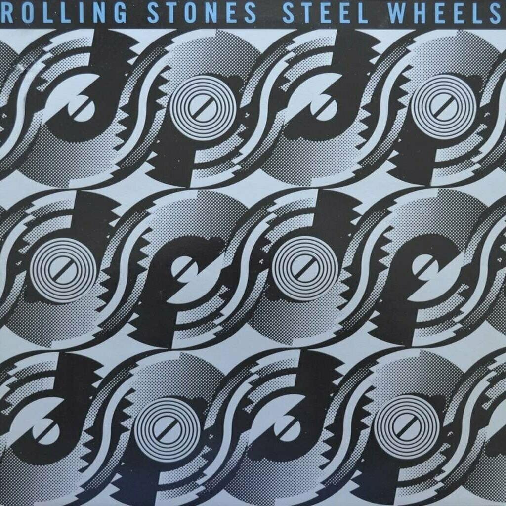 "Rolling Stones ""Steel Wheels"" VG+ 1989 [r7172125]"