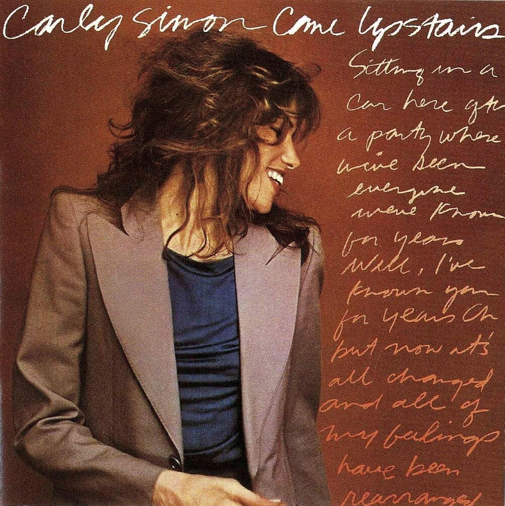 "Carly Simon ""Come Upstairs"" EX+ 1980"