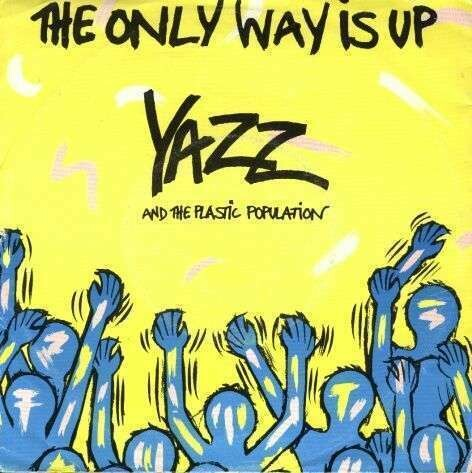 """Yazz & The Plastic Population """"The Only Way Is Up"""" {12""""} EX+ 1987"""