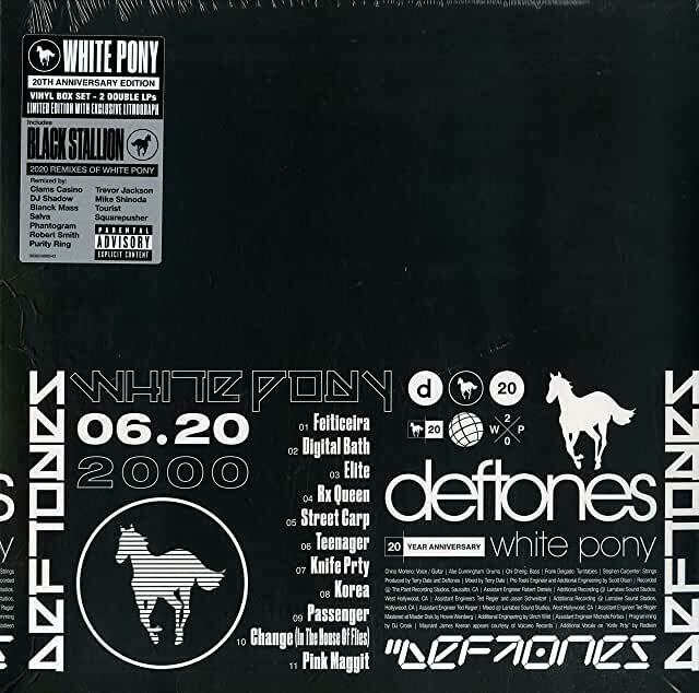 "Deftones ""White Pony: 20th Anniv. Deluxe Edition"" {4xLPs!}"