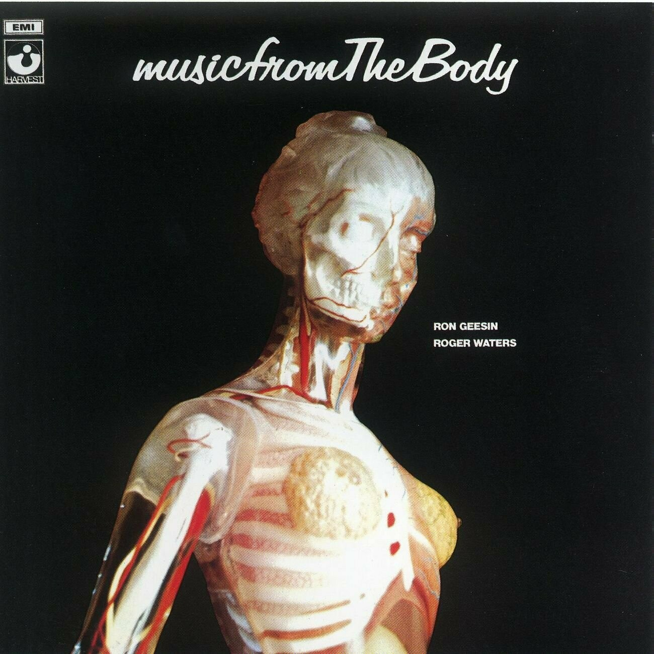 "Ron Geesin & Roger Waters ""Music From The Body"" VG+ re.1979 *JP import*"