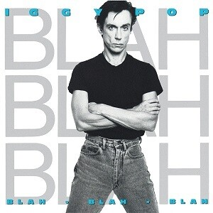 "Iggy Pop ""Blah-Blah-Blah"" VG+ 1986"