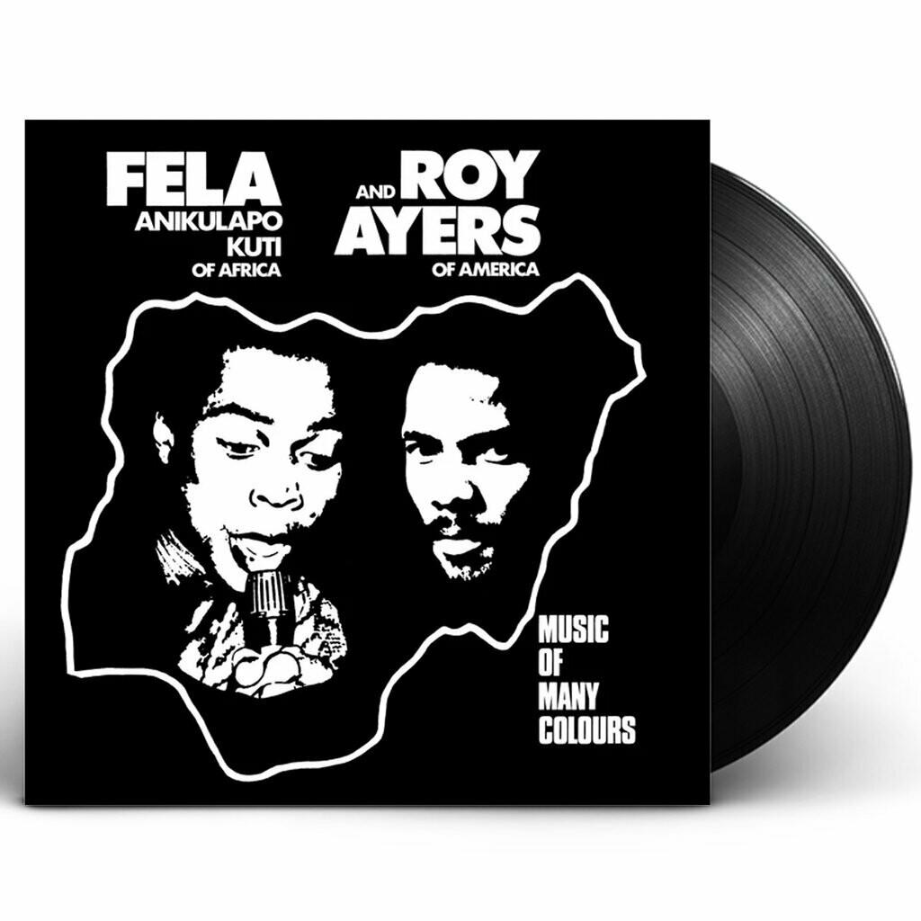 "Fela Anikulapo Kuti & Roy Ayers ""Music Of Many Colours"""