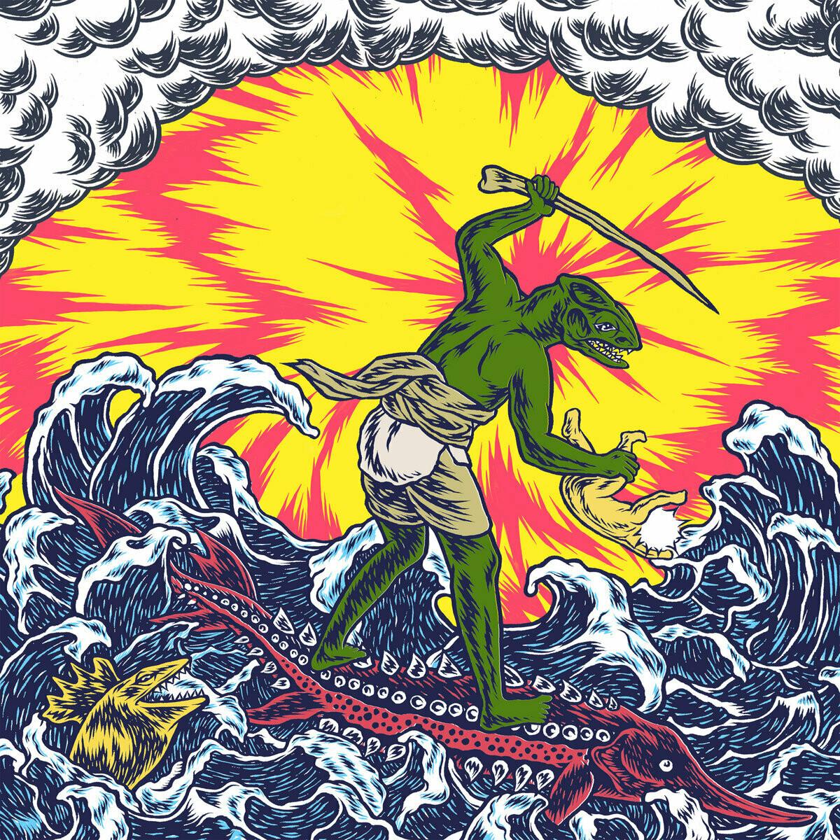 "King Gizzard And The Lizard Wizard ""Teenage Gizzard"""