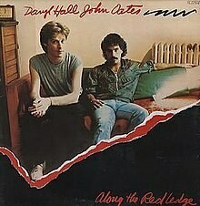 """Hall & Oates """"Along The Red Ledge"""" VG 1978"""