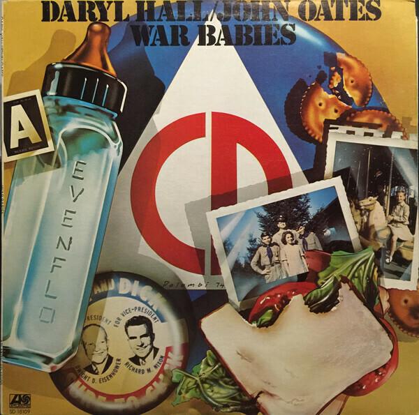 """Hall & Oates """"War Babies"""" VG 1974"""