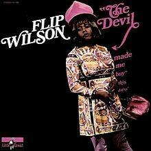 "Flip Wilson ""The Devil Made Me Buy This Dress"" EX+ 1970"